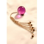 Crystal Anal Ball Gold Jewelry For Her or Him