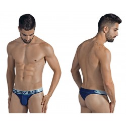 1293 Snowy Thongs Color Blue