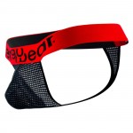 EW0136 MAX Mesh Thongs Color Black-Red